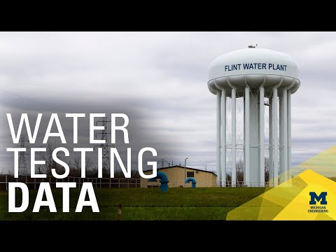 University of Michigan: Using data science to manage the Flint Water Crisis
