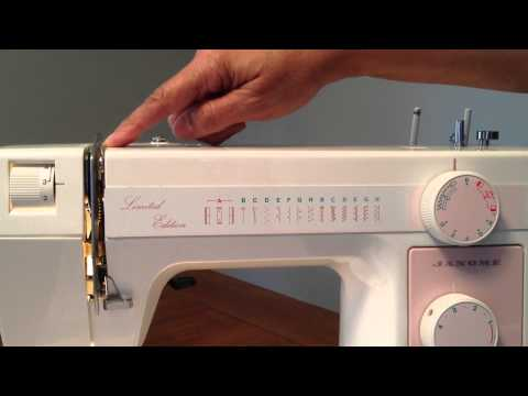 new home sewing machine how to thread