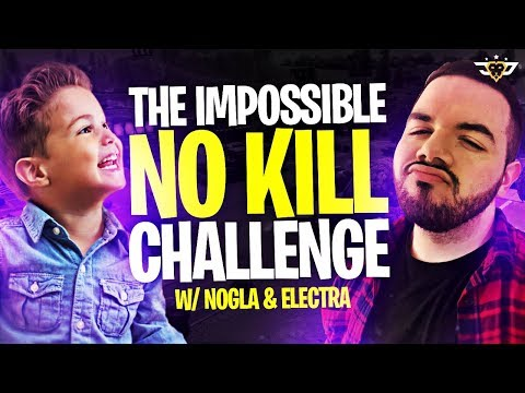 THE IMPOSSIBLE NO KILL CHALLENGE WITH CONNOR, NOGLA, AND ELECTRA (Fortnite: Battle Royale)