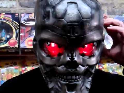 Terminator Helmet For Sale On Ebay Youtube