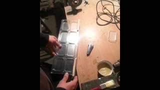 Производство сотового меда  Сборка рамки(, 2015-10-21T09:02:15.000Z)