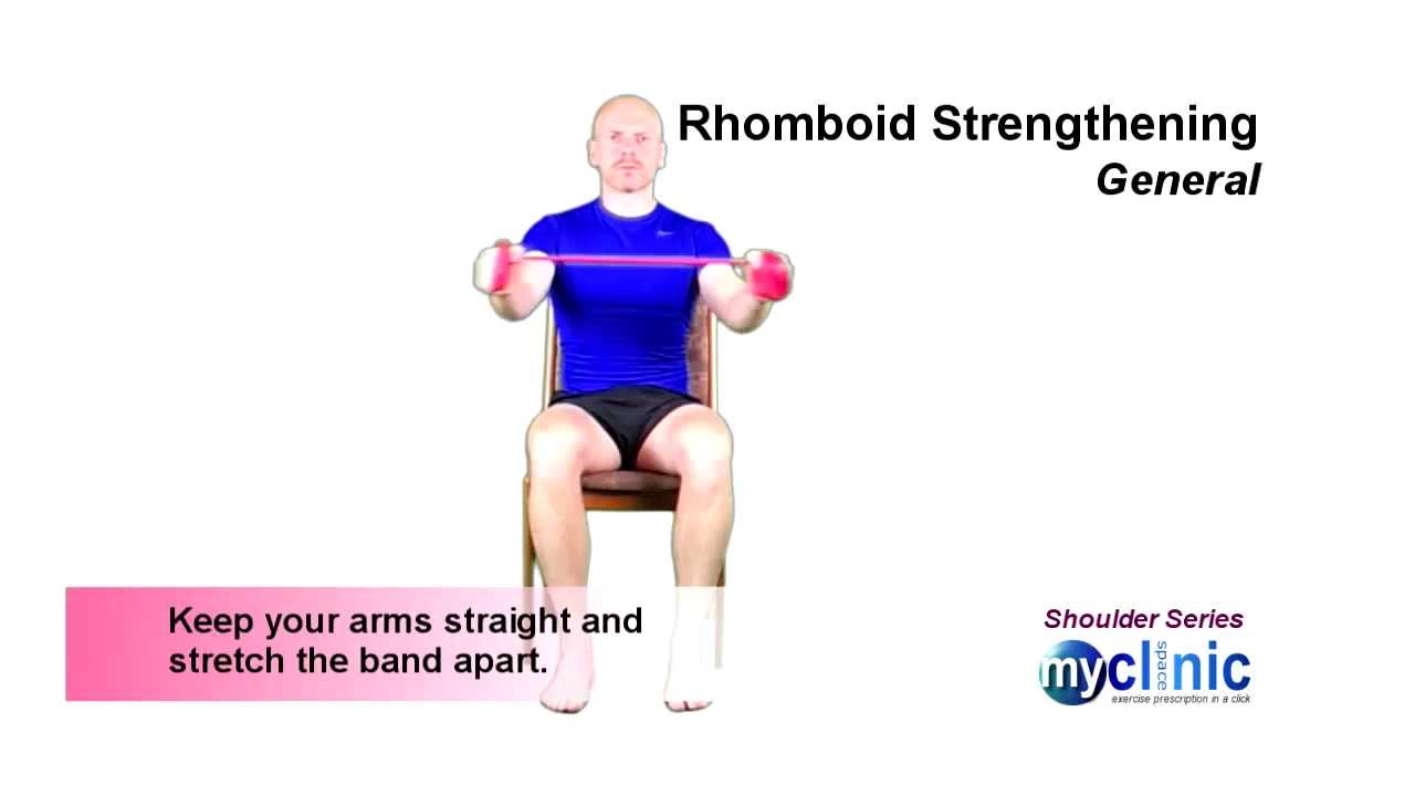 Shoulder Series - Rhomboid Strengthening - YouTube