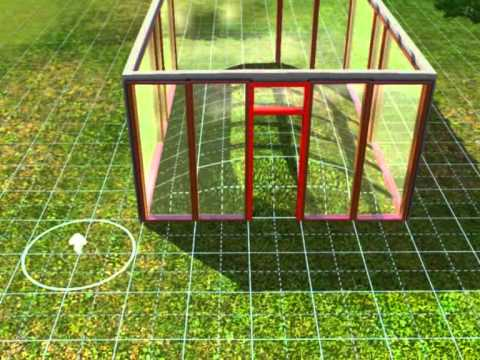 How to make a green house in sims 3 - YouTube