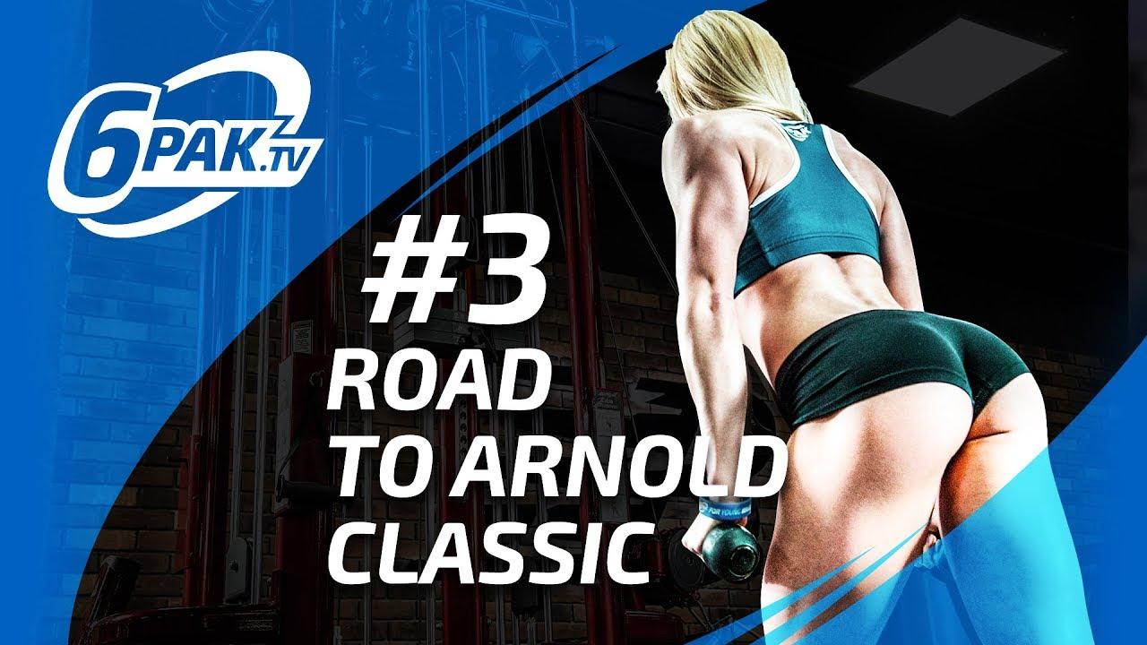Road To Arnold Classic – PAULA MOCIOR #3 | ZMIANY! Eksperymenty