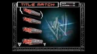 WWE RAW - Total Edition - Primeira Game Play