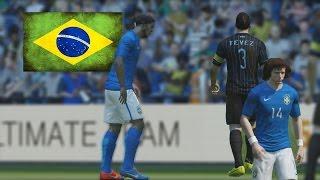 Fifa 15 Ultimate Team - Armamos la Selección de Brasil - Ronaldinho todo un CRACK!