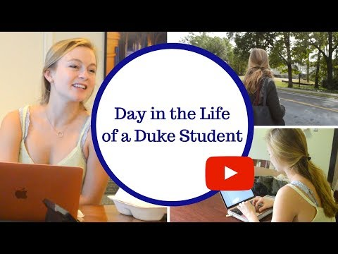 A Day in the Life of a Duke Student
