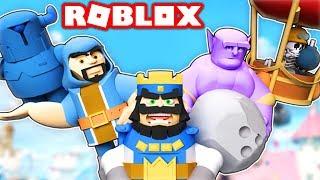 CLASH ROYALE IN ROBLOX! (Roblox Clash Royale)