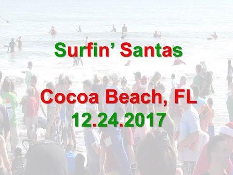Surfin' Santas 2017 Cocoa Beach, Florida