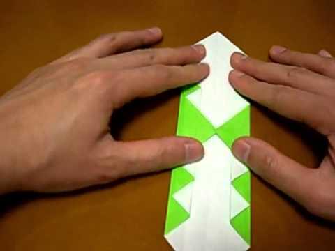 Cách xếp nhẫn giấy theo phong cách Origami - vnHow.vn.flv