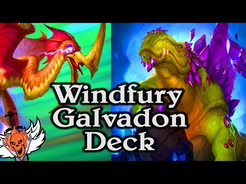 Galvadon Windfury 🍀🎲 ~ Journey to Un'Goro ~ Hearthstone Heroes of Warcraft from YouTube · High Definition · Duration:  19 minutes 19 seconds  · 13000+ views · uploaded on 04/08/2017 · uploaded by wowhobbs