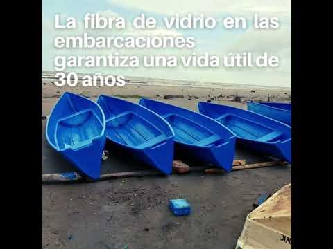 Familias de Wounta Bar reciben 40 cayucos de fibra de vidrio para reactivar actividad pesquera