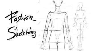 Построение фигуры с опорой на две ноги для Fashion скетча. Видео урок по построению женской фигуры.(Записаться и узнать подробности по курсу Fashion скетчинг вы можете пройдя по ссылке: http://artedegrass.ru/tickets/fashion_sketches..., 2015-03-30T18:12:07.000Z)