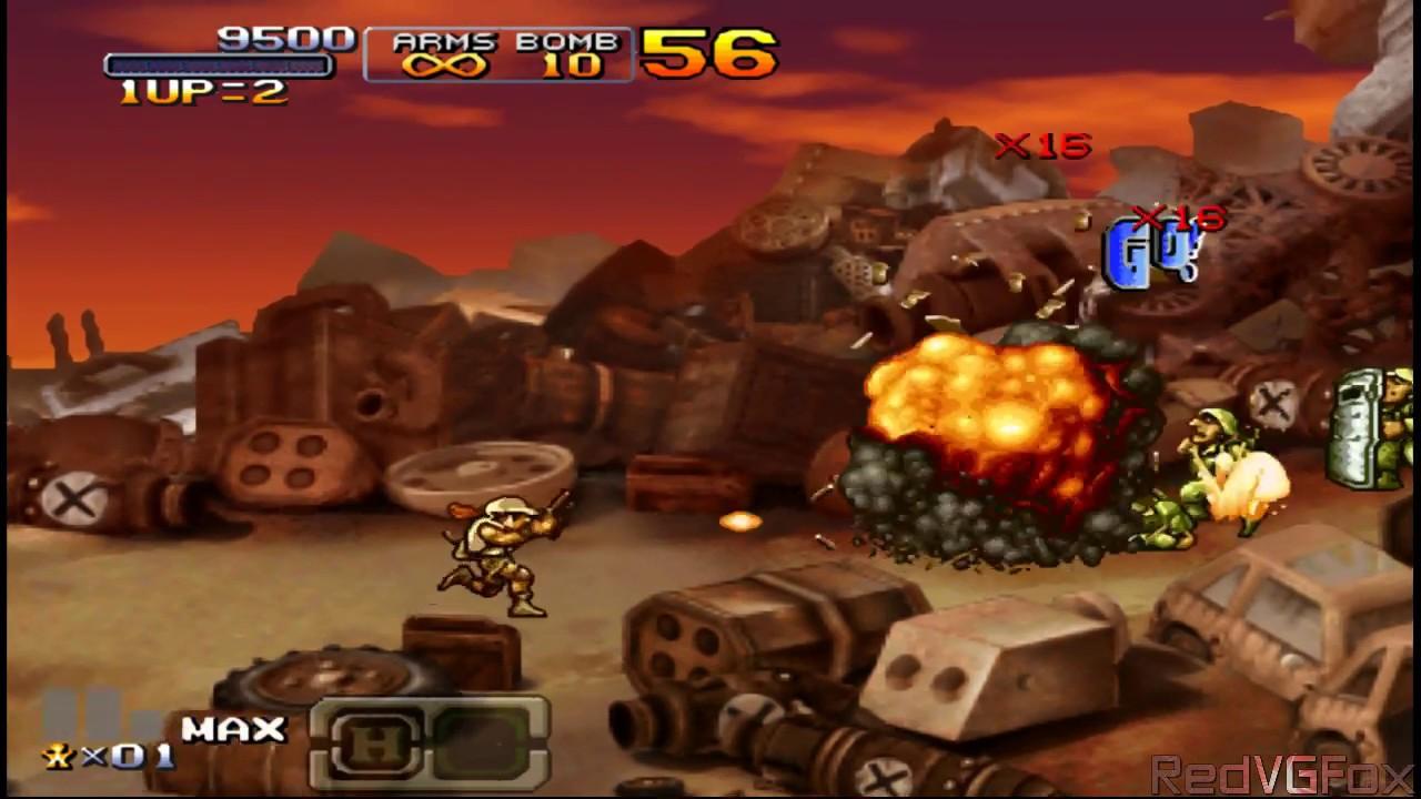 Metal Slug XX (Metal Slug 7) - PSP Gameplay - YouTube