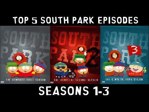 Top 5 South Park Episodes (Season 1-3)