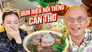 Looking for the prominent 50-year-old Vietnamese crab noodle soup eatery in Cần Thơ