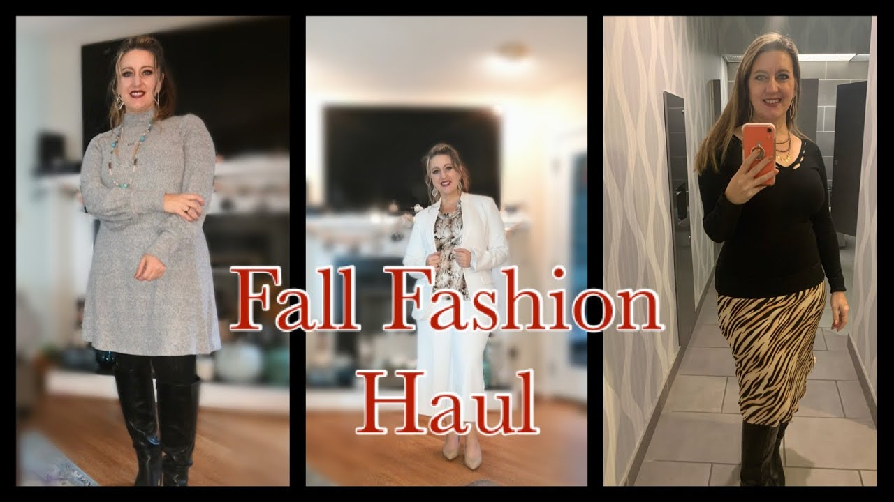 [VIDEO] - Fall Fashion Haul express, White House black market, Nordstrom, thred up 1