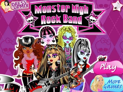 Play Games: Monster High Rock Band