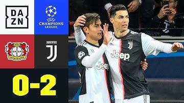 Ronaldo schickt Bayer in die Europa League: Leverkusen - Juventus 0:2 | UEFA Champions League | DAZN