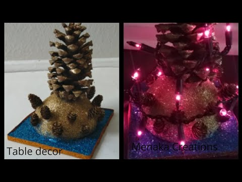DIY Pine Cone Decorations | Pine Cone Craft Ideas | Home Decor |