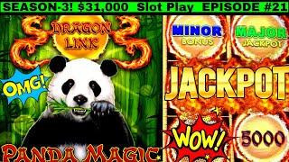 High Limit DRAGON LINK Slot HANDPAY JACKPOT | Fantastic Session | Session 3 | EPISODE #21