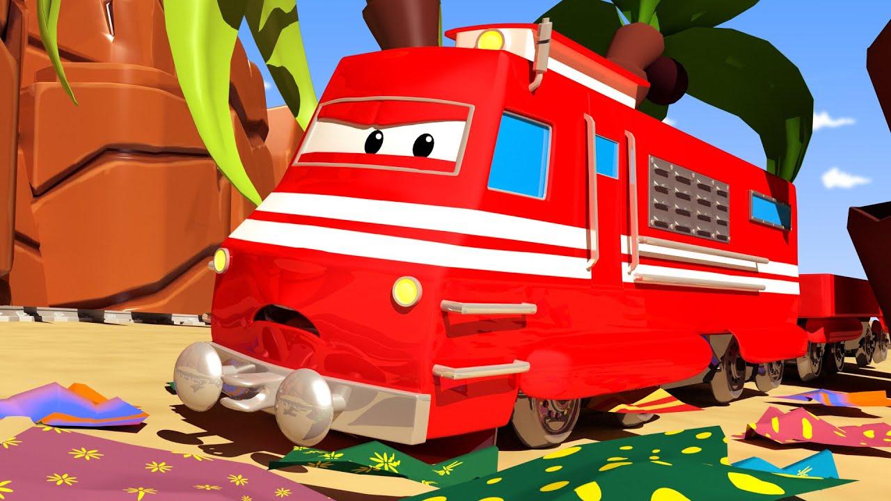 Xe lửa Troy - Lễ Phục Sinh : xe lửa tái chế - Thành phố xe