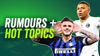 Real Madrid will WIN the UCL, Icardi to leave Inter, United to appoint Ole + much more!►Q&A Special