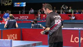 Table Tennis - THA vs ESP - Men
