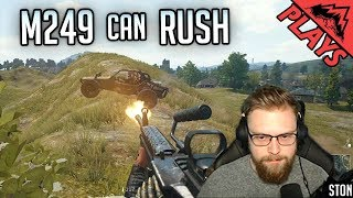 M249 CAN RUSH - PlayerUnknown