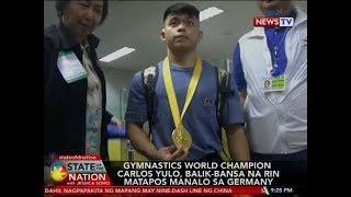 SONA: Gymnastics world champion Carlos Yulo at boxing champion Nesthy Petecio, binigyan...