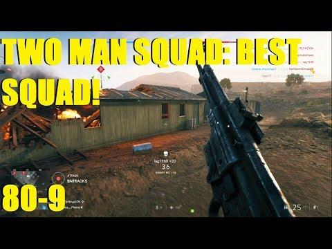 Battlefield V - Two Man Squad gets BEST SQUAD! 80-9 STG-44! (PS4 PRO) thumbnail