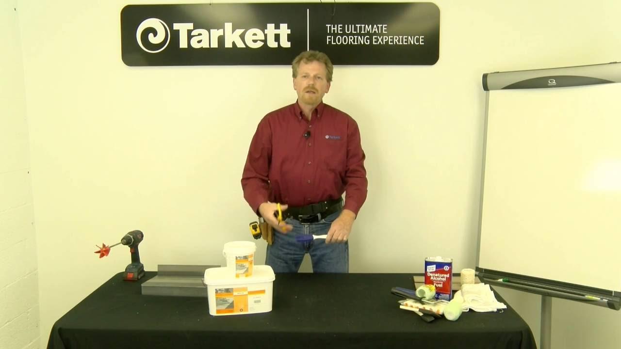 Chair Rail Johnsonite Part - 32: Proper Use And Application Of Tarkett 946 Premium Contact Adhesive