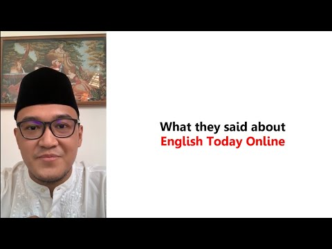 Testimonial English Today Online-PT Pegadaian