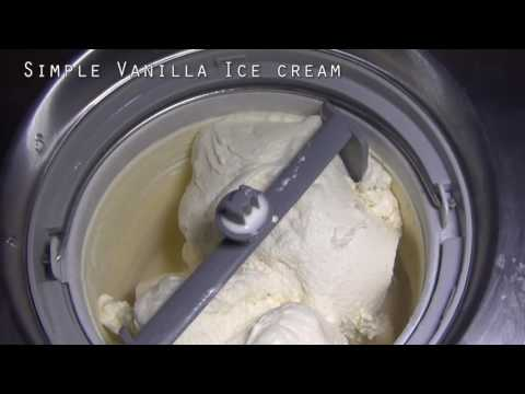 Cuisinart ICE100BCU Ice Cream Maker Review Video