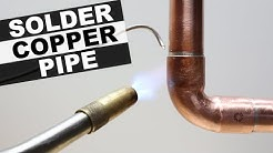 How to Solder Copper Pipe Like a Pro