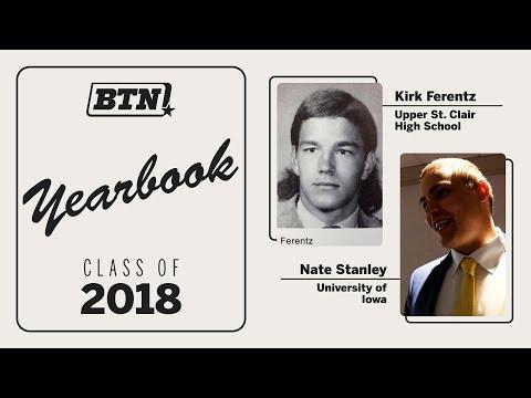 big-ten-players-react-to-coach's-high-school-yearbook-photos-|-big-ten-football