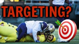 Targeting a bad college football rule in wake of Oregon Ducks vs. Washington Huskies