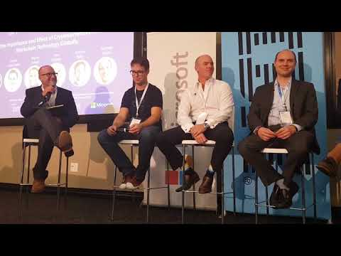 Adrian Hope-Bailie Standards Officer at Ripple Blockchain Africa 2018 Day 1