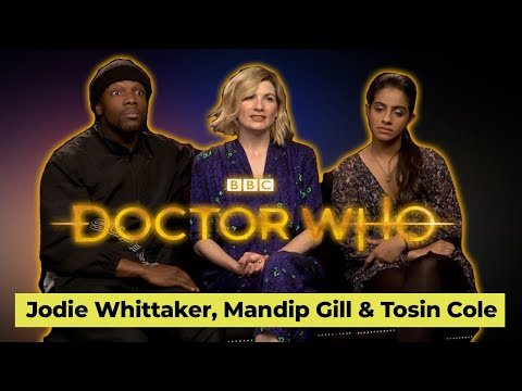 Doctor Who Series 12: Jodie Whittaker Talks New Villains + Changes With Mandip Gill And Tonsin Cole