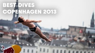Best Dives from Red Bull Cliff Diving 2013 - Copenhagen