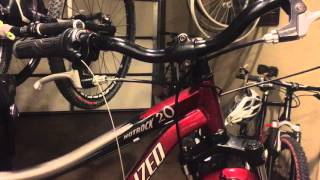 replace shift cable in shimano sl rs31 6