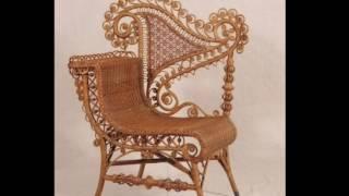 Плетеные стулья как искусство