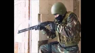 Оружие Спецназа. РМБ-93(Гладкоствольное боевое ружье РМБ-93 (Ружье Магазинное Боевое, 93 год)было разработано в начале девяностых..., 2013-03-11T06:13:37.000Z)