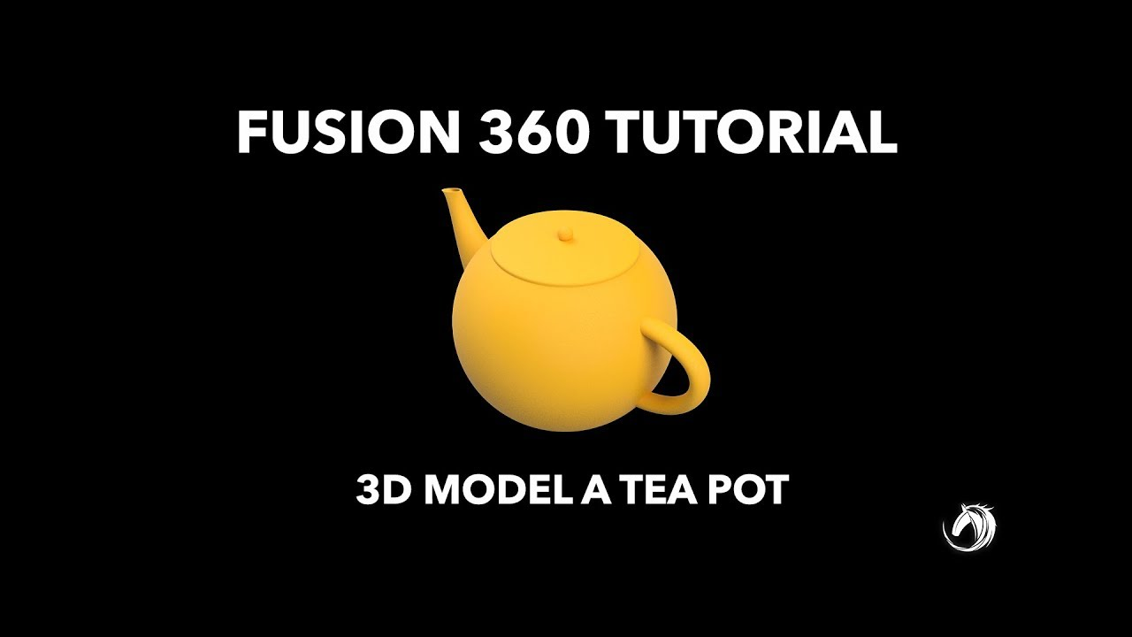 Fusion 360 Step by Step Tutorial | MODEL A TEA POT IN 10 MINUTES !!