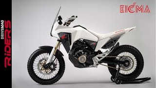 Honda CB125X & CB125M - Stunning Concepts! | Walkaraound and Preview