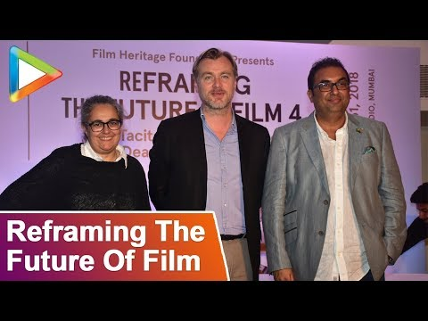 Christopher Nolan | Tacita Dean | Reframing The Future Of Film | FULL UNCUT
