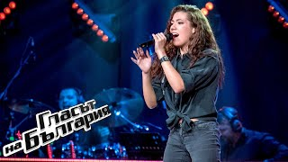 Maria Minkova - Smells Like Teen Spirit | Blind Auditions | The Voice of Bulgaria 2020