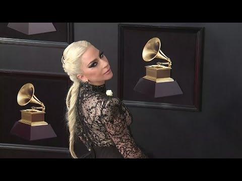 Gaga, Cardi B. among stars wearing white roses for Grammys Mp3