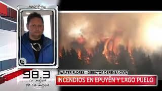 Info FM 98.3: Incendios en Epuyén y Lago Puelo