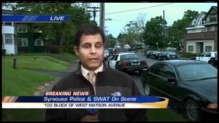 Syracuse SWAT team responds to south side incident